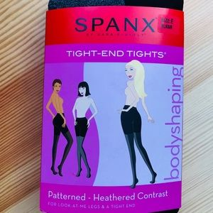 SPANX Contrast Bodyshaping Tight-End Tights
